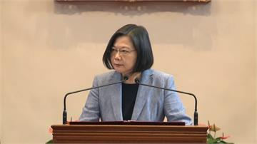 快新聞/接見環保獎獲獎企業 蔡英文:強化台灣國際供應鏈的競爭優勢