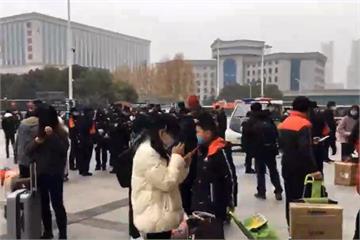 快新聞/武漢全市封城「市民逃離畫面」曝光! 上午10時不到旅客擠爆車站