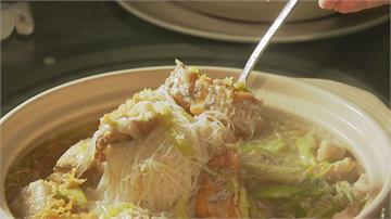 當季白帶魚加上澎湖石 巨澎湃海味米粉鍋 鮮甜滿溢