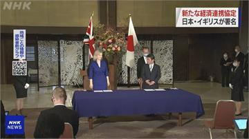 英國、日本簽署EPA最快明年生效 雙方九成以上貨物可望免關稅