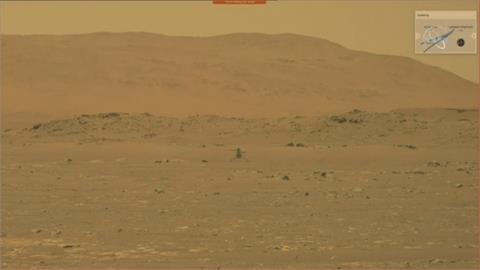 如太空史上萊特兄弟!創新號火星直升機飛行任務成功