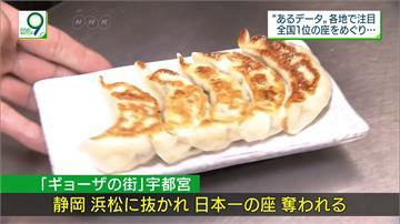 日本餃子大對決!濱松市消費額連兩年奪冠