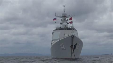 中國南昌艦首次海外軍演 兩國演練協同作戰