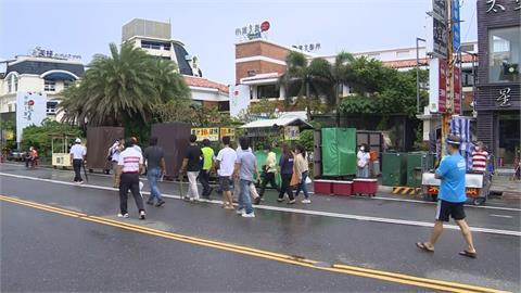 墾丁大街舉行防疫演練 7/16起試營運三天