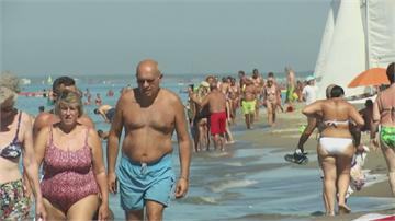 南北半球兩樣情! 義大利週末熱到爆、巴西冷到負8.6度