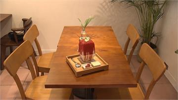 創意冰磚浮誇上桌!「花園裡吃冰」成IG打卡避暑聖地