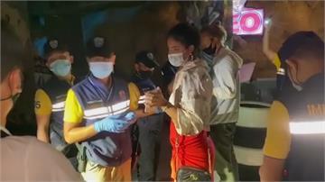 島上遊客違反禁聚令 泰警突襲酒吧逮111人