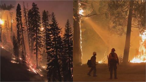 美「卡爾多大火」14天不滅!野火燒進太浩湖盆地 數千人連夜逃命
