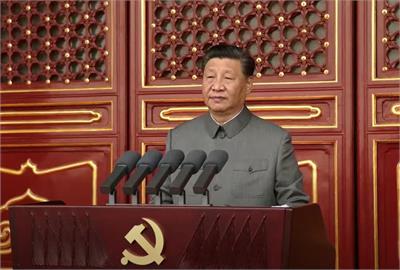 中共百年黨慶 習近平:粉碎台獨圖謀