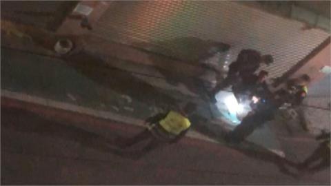 警抓通緝犯傳爆炸聲! 另一頭情侶吵架燒東西