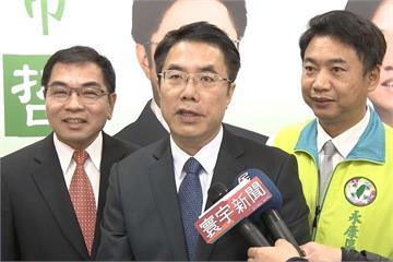拚台南市長初選 黃偉哲、陳亭妃同天造勢