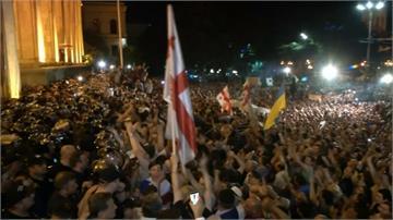 抗議俄羅斯議員在喬治亞致詞 警民爆衝突至少70傷