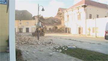 克羅埃西亞規模6.4強震 7人死逾20人受傷