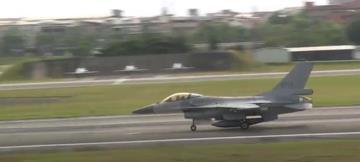 快新聞/雙十國慶前夕 花蓮空軍基地7架F-16戰機緊急起飛