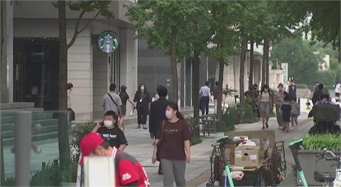 南韓單日新增再超1200例 直逼第三波疫情高峰