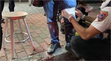 快新聞/疑金錢糾紛起口角 男子持刀砍對方大腿後逃逸