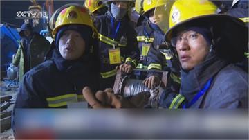中國金礦場爆炸! 22人受困600多公尺地底