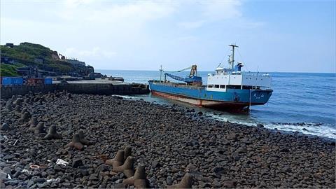 金門烏坵再傳貨輪擱淺意外 船身驚見50公分破洞
