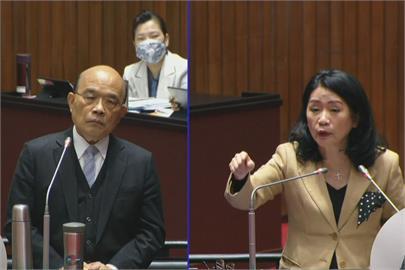 快新聞/鳳梨事件藍委籲別言語挑釁 蘇貞昌:中國講話的言語超過我百、萬倍