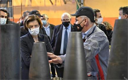 快新聞/關注中國對台侵擾 法國防部長:曾派軍艦行經台灣海峽