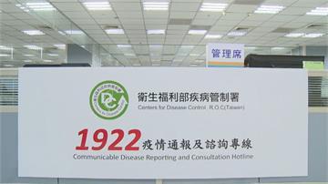 防疫專線1922全年無休! 整年接了202萬通電話