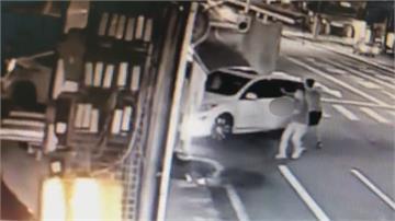 錢莊人馬開槍押人 警攻堅車輛救出被害人