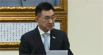 快新聞/國民黨辦光復節活動 江啟臣:無法接受被抹紅成與對岸隔海唱和