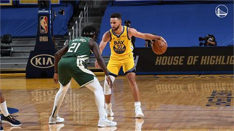 NBA/神射柯瑞豪取41分 勇士122比121逆轉勝公鹿