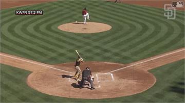 MLB/證明14年肥約物超所值 小塔提斯春訓滿貫砲