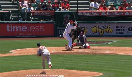 MLB/大谷翔平擊出本季第31支全壘打 追平松井秀喜紀錄