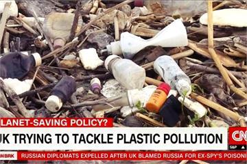 塑膠垃圾摧毀海洋生態 英國打算這樣減塑