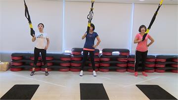 過年打拳練TRX  藍營女立委鍛鍊體能「保戰力」