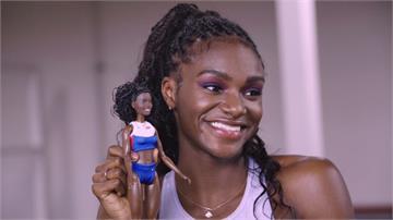 慶祝國際婦女節!芭比推女性運動員真人版娃娃