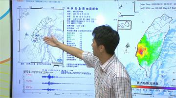 快新聞/台南六甲上午連3起地震 氣象局:後續幾天可能還會有規模4以上地震