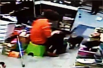 婦買鞋把店狗打到脊椎受傷 飼主怒報警