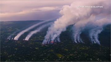 夏威夷火山持續噴發 至少21棟民宅遭吞噬