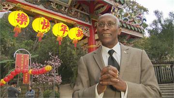 聖露西亞大使愛台灣!對廟宇文化超有興趣