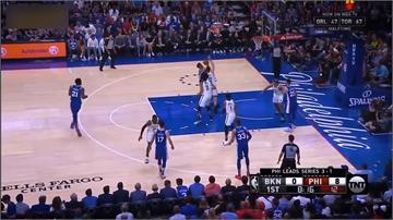 NBA/東區暴龍、76人晉級 西區拓荒者率先出線