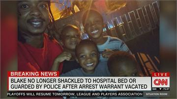 美國非裔布雷克遭槍擊案 半身癱瘓住院 警方還曾上銬