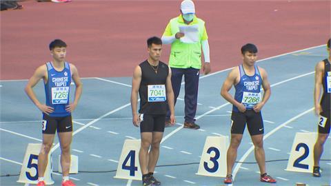 東奧男子100公尺預賽 楊俊瀚分組第5無緣晉級