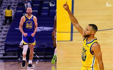 NBA/關門戰狂轟46分!場均32分領先全聯盟 柯瑞成喬丹之後最老得分王