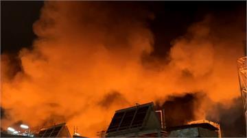 高雄林園化工廠爆炸起火 釀空污罰500萬