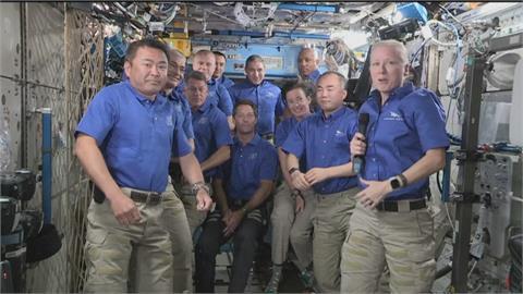 國際太空站滿載11人好熱鬧 只有6床位5人得打地鋪