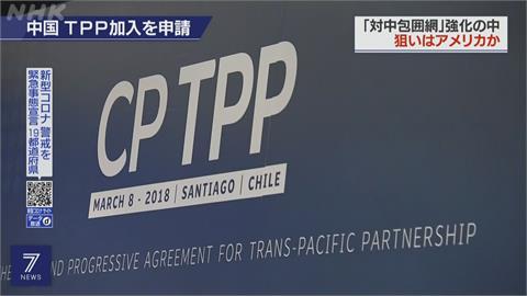 美英澳組聯盟! 中國申請入CPTPP突圍意味濃