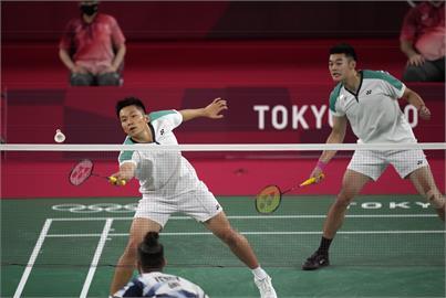 東奧/「麟洋配」羽球男雙擊退「世界第1」印尼!確定晉級8強