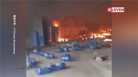 緬甸台商遭示威波及 我駐處:掛國旗防被當中企