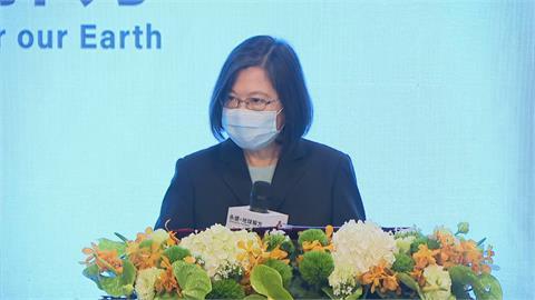 快新聞/扭轉全球暖化是「我們的課題」 蔡英文:台灣不能置身事外