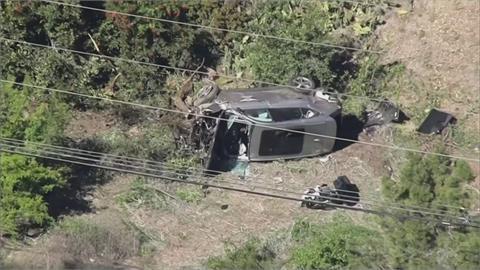 警方公佈伍茲車禍調查 時速135公里失控釀禍