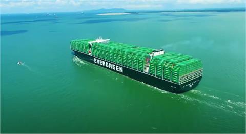 航海王超大「長範輪」入台北港 甲板有4座足球場大稱霸歐洲線