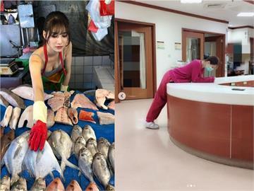 「最美魚販」阿澎曾任4年護理師!響應醫護徵召令:無法置身事外